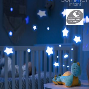 Summer Infant Slumber Buddies®Deluxe Dino το Δεινοσαυράκι
