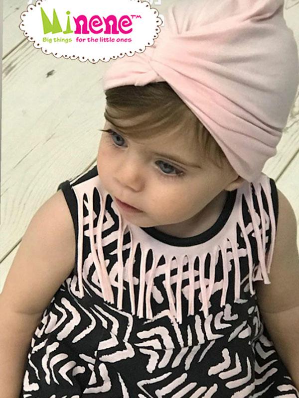 516daa70585 Αρχικη σελιδα / The Shop / Ενδυση / Αξεσουαρ / Αξεσουαρ Μαλλιων / Minene  Turban Baby Pink