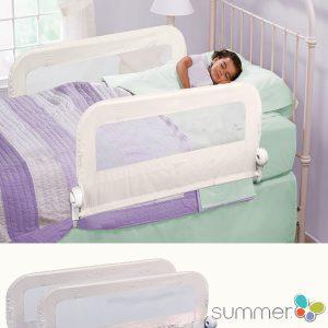 Summer Infant 2 Προστατευτικά Κρεβατιού Λευκό