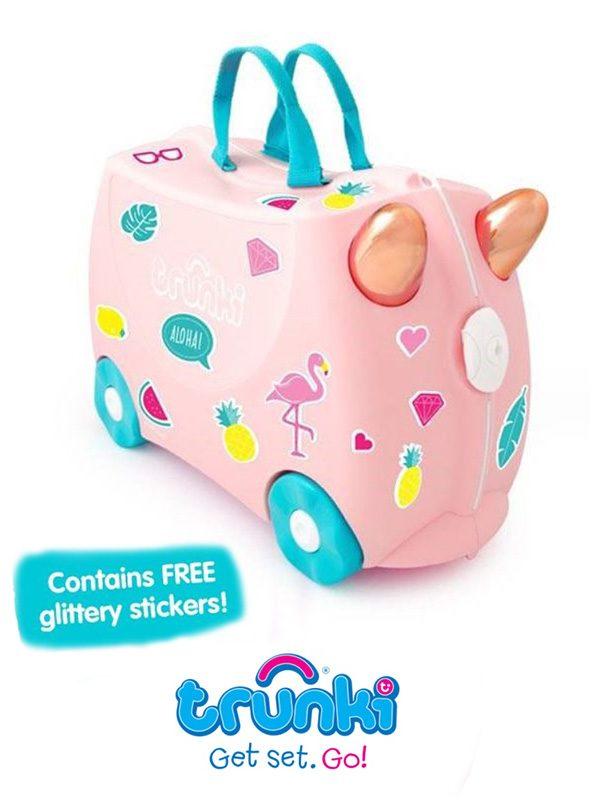 4601057ea3 Αρχικη σελιδα   The Shop   Δωρα   Προτασεις   Best Sellers   Παιδικη  Βαλιτσα Ταξιδιου Trunki-Flossy the Flamingo