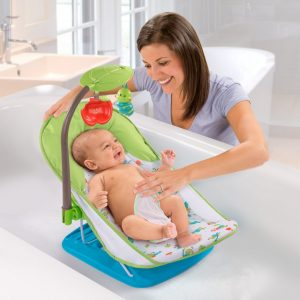 Summer Infant Baby Bather With Toy Bar