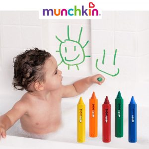 5 Bath Crayons Munchkin πλενόμενοι μαρκαδόροι μπάνιου
