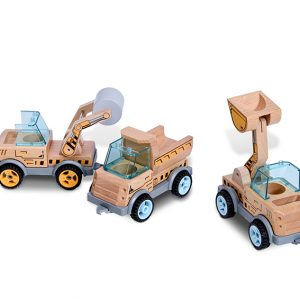 Bs Toys Αυτοκινητάκια Οικοδομής