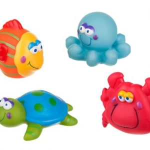 Παιχνίδια μπάνιου Μπουγελοφατσάκια (σετ των 4)