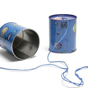 Το Tin-o-phone - Αυτοσχέδιο Τηλέφωνο