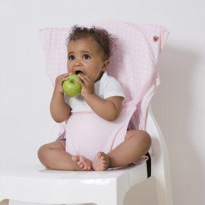 Pocket Chair Ροζ Αστέρια
