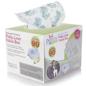 Potette Plus Ανταλλακτικές Σακούλες Ρολό (90 τεμ)