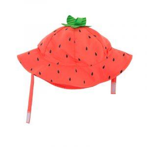 Αντηλιακό Καπέλο UPF50+ Φραουλίτσα