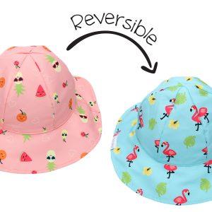 Καπέλο Διπλής Όψης UPF 50+ - Φλαμίνγκο