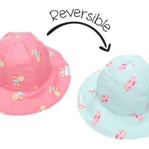 Καπέλο Διπλής Όψης UPF 50+ - Mermaid