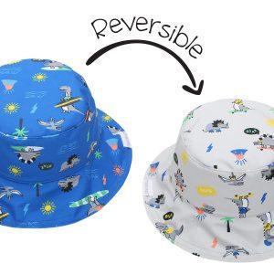 Καπέλο Διπλής Όψης UPF 50+ - Dino