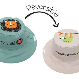 Καπέλο Διπλής Όψης UPF 50+ - Λιονταράκι (Cotton)