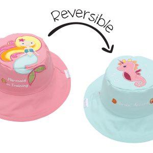 Καπέλο Διπλής Όψης UPF 50+ - Γοργόνα (Cotton)