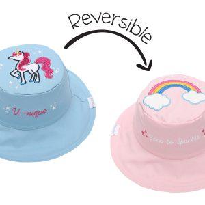 Καπέλο Διπλής Όψης UPF 50+ - Μονόκερος (Cotton)