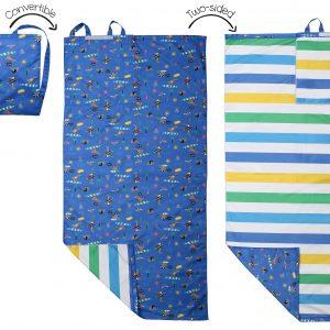 Πετσέτα Παραλίας Backpack - Dino