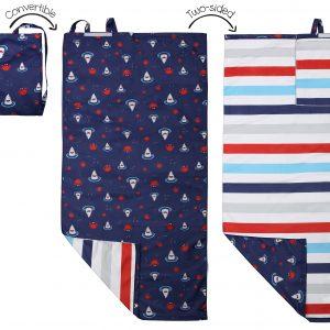 Πετσέτα Παραλίας Backpack - Shark/Crab