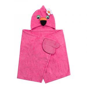 Παιδική Πετσέτα Franny the Flamingo