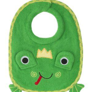 100% Cotton Σαλιάρα - Flippy the Frog