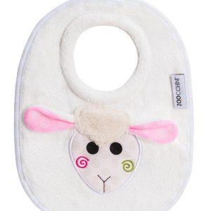 100% Cotton Σαλιάρα - Lola the Lamb