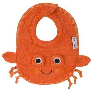 100% Cotton Σαλιάρα - Charlie the Crab