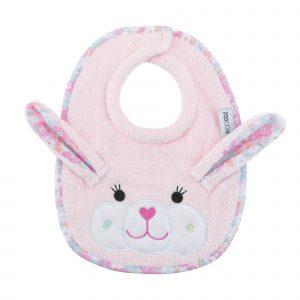 100% Cotton Σαλιάρα - Beatrice the Bunny