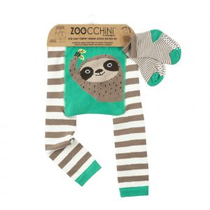 Grip+Easy Crawler Pants & Socks Set - Silas the Sloth
