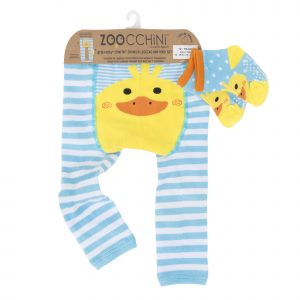 Grip+Easy Crawler Pants & Socks Set Puddles the Duck