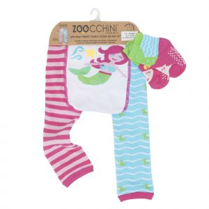 Grip+Easy Crawler Pants & Socks Set Marietta the Mermaid
