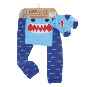 Grip+Easy Crawler Pants & Socks Set Sherman the Shark