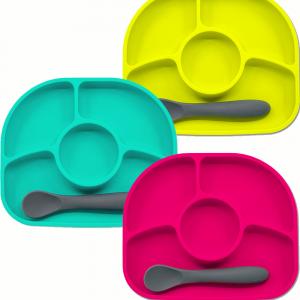 Yümi - Πιάτο σιλικόνης με χωρίσματα