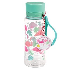 Water Bottle Flamingo