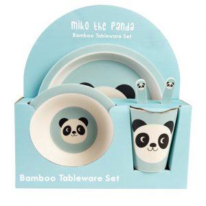 Σετ Φαγητού Μπαμπού Panda