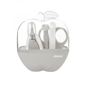Baby Care Kit - Apple Grey